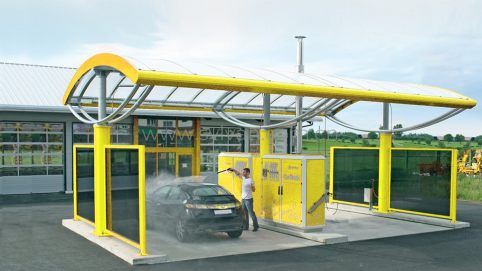 Car wash design project - Building Exterior - JoyDesign