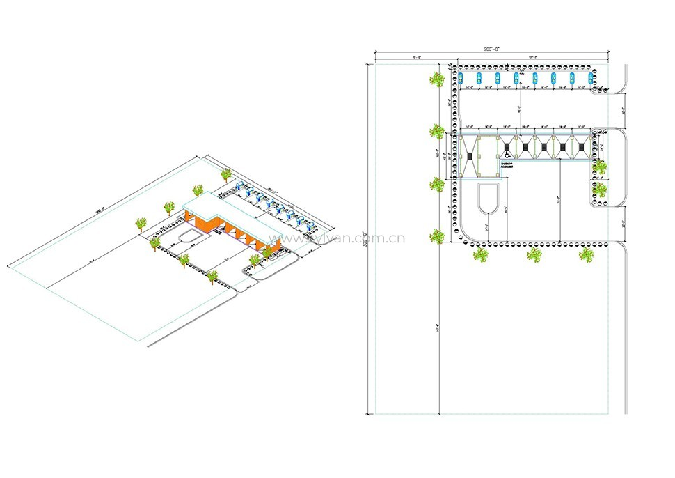 Car wash design project - Construction Drawing - JoyDesign