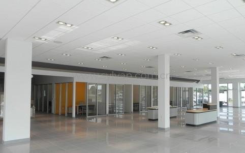 汽修厂接待设计效果图-佛罗里达4S店-卓一设计