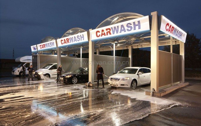 Car wash design project - Reception Area - JoyDesign