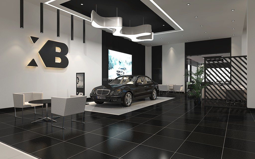 Auto Shop Design Xingbao Luxury Auto Harbour Joydesign