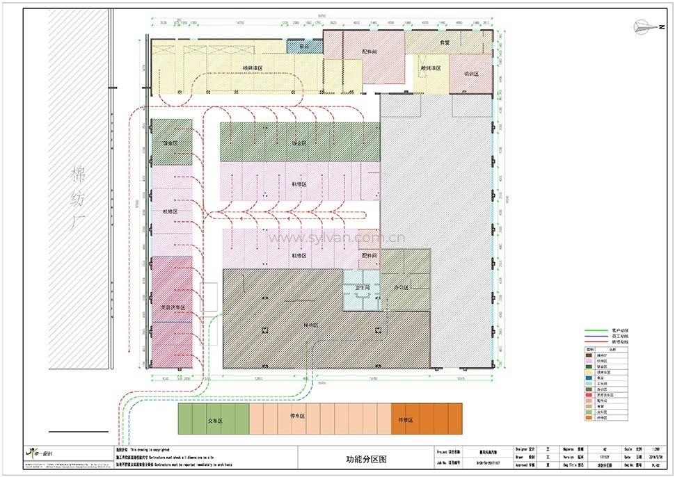汽修厂车间设计图纸-襄阳天奥-卓一设计