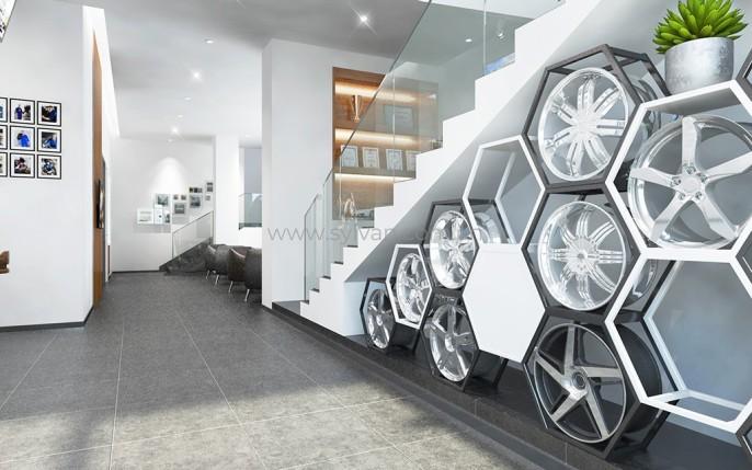 General Automotive Repair Shop Design Case - Reception Area - JoyDesign