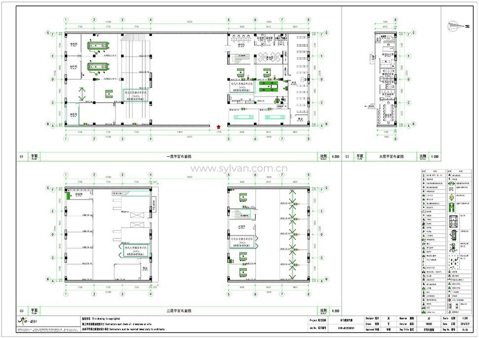 General Automotive Repair Shop Design Case - Construction Drawing - JoyDesign