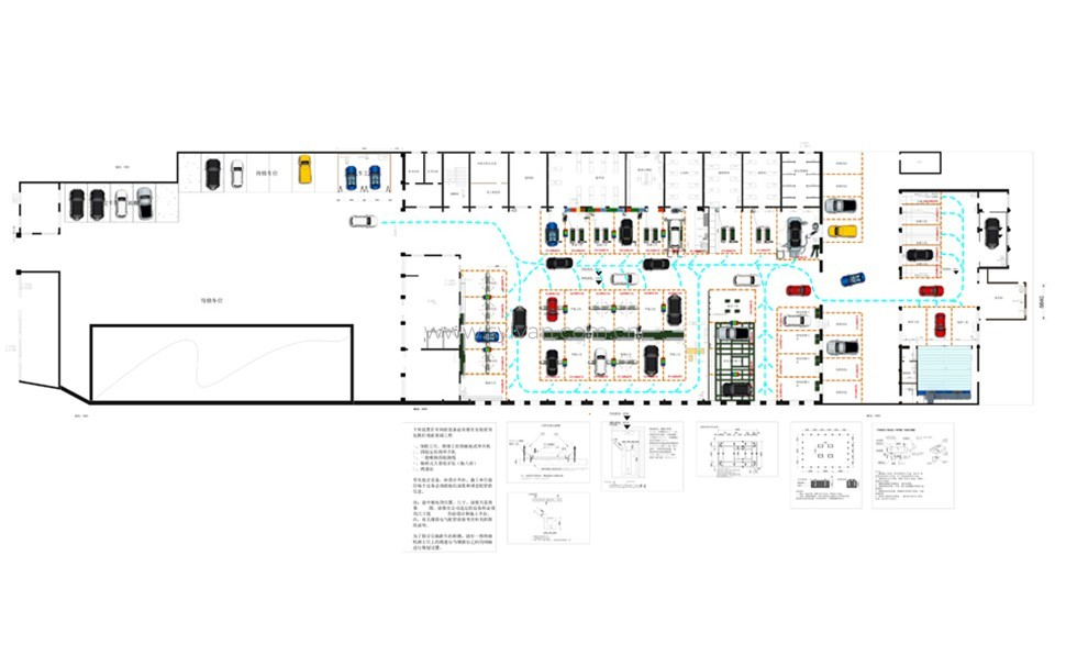 General Automotive Repair Shop Design Project - Construction Drawing - JoyDesign