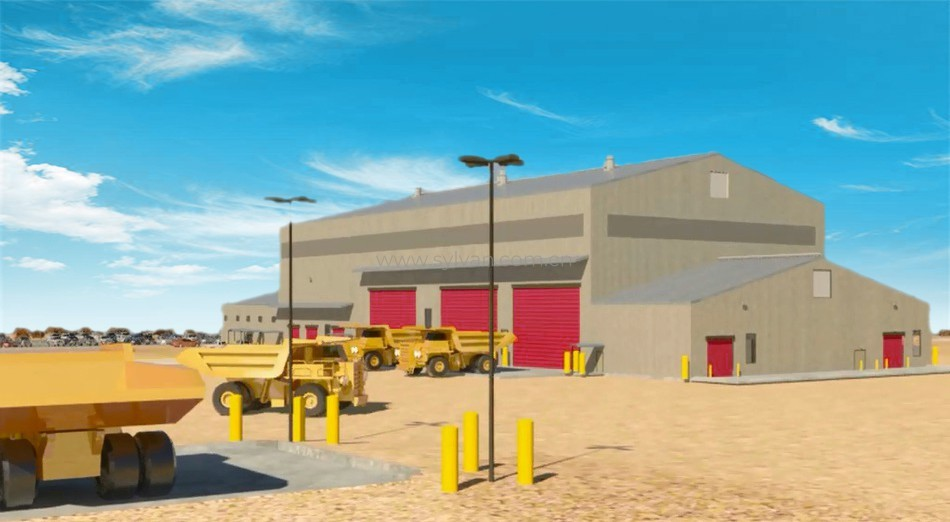 Commercial Vehicle Service Center Design Project - Building Exterior - JoyDesign