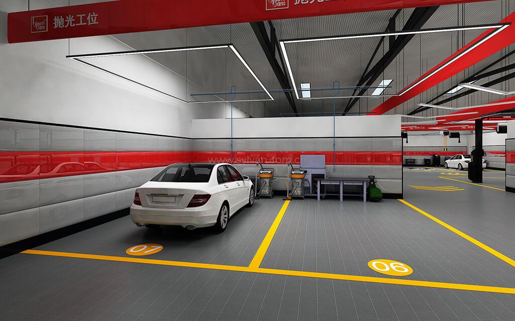 汽修厂车间布局规划-标榜-卓一设计